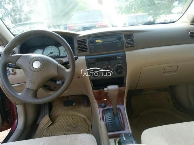 2007 Toyota Corolla White