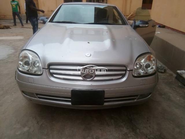 1997 Mercedes SLK 230 Silver