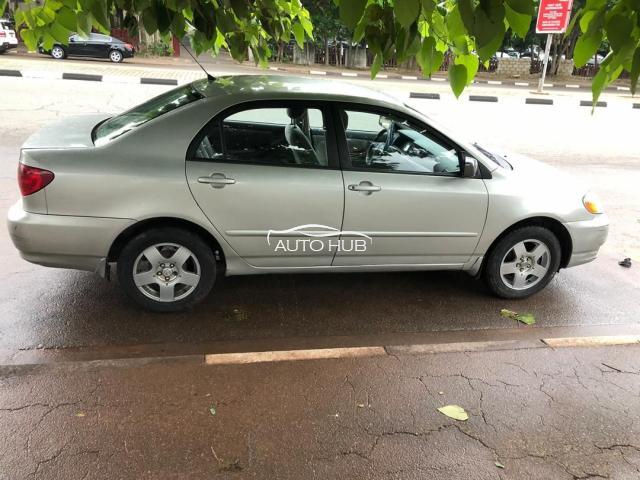 2003 Toyota Corolla Silver