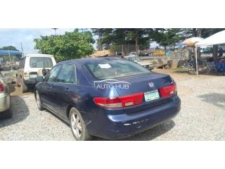 2005 Honda Accord Blue