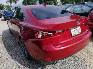 2014 Lexus IS 250 Red