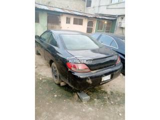 2000 Toyota Solara Black