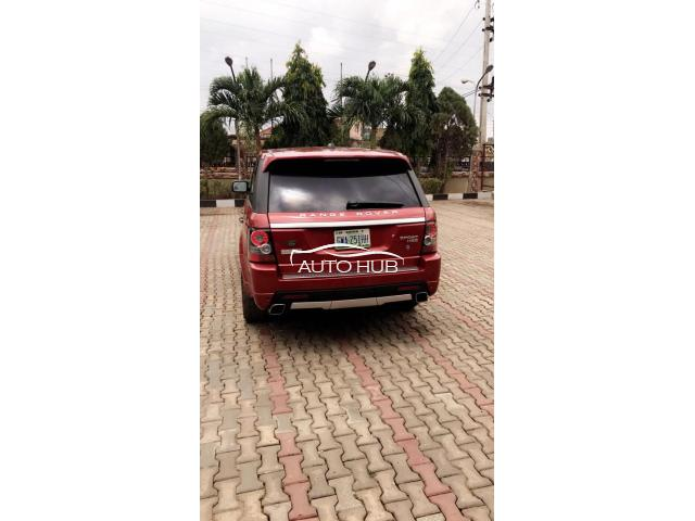 2007 Range Rover Sports Red