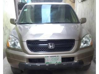 2005 Honda Pilot Gray