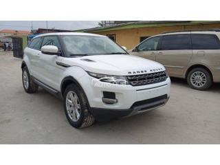 2013 Range Rover Evoque White