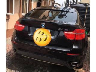 2011 BMW X6 Black