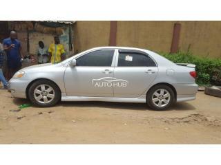 2005 Toyota Corolla S Silver