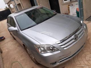 2007 Toyota Avalon Silver