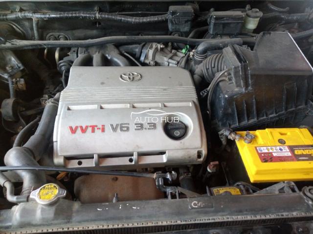 2005 Toyota Highlander Green