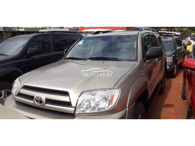 2004 Toyota 4 Runner Brown