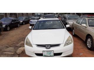 2003 Honda Accord White