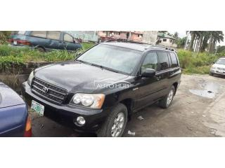 2003 Toyota Highlander Black