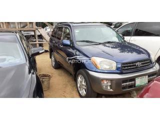 2003 Toyota Rav 4 Blue