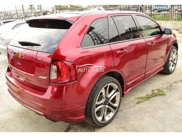 2011 Ford Edge Red