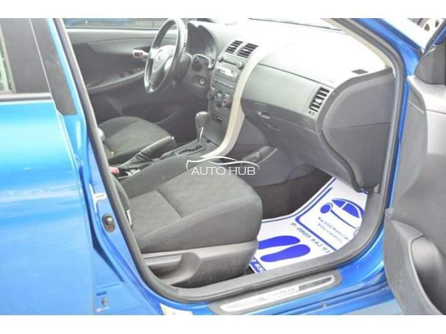 2010 Toyota Corolla S Blue