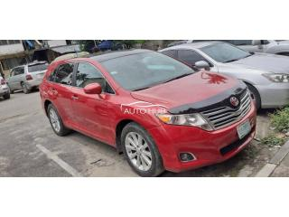2012 Toyota Venza Red