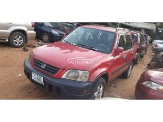 2000 Honda CRV Red