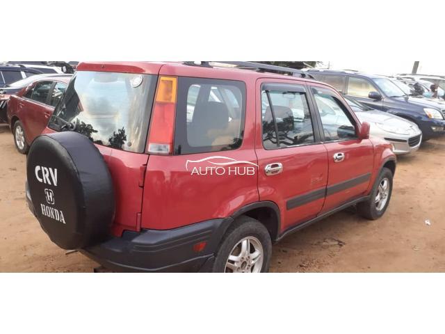 2000 Honda CRV Red