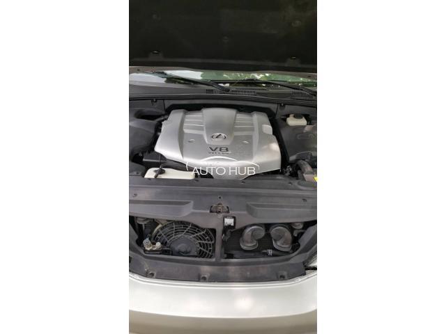 2003 Lexus GX 470 Silver