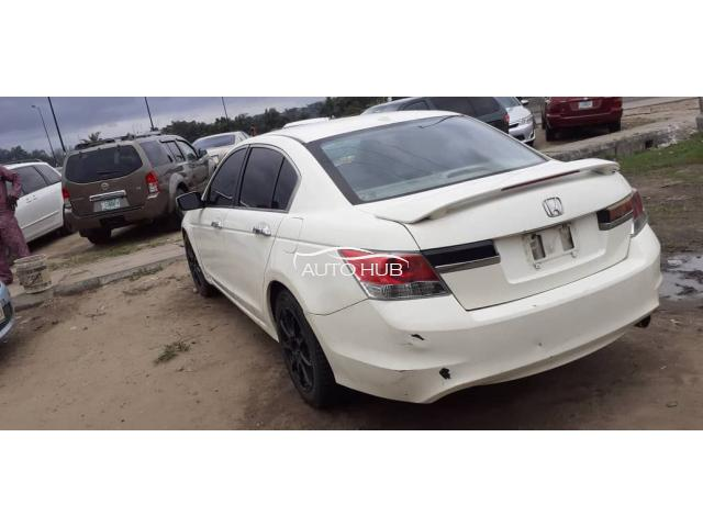 2008 Honda Accord White