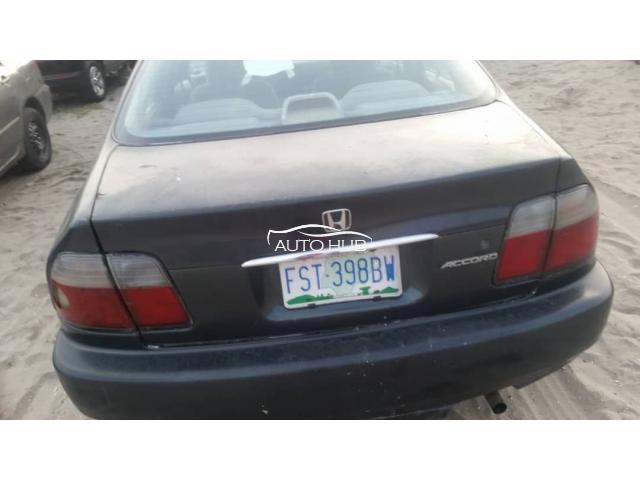 1996 Honda Accord Black