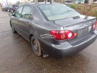 2007 Toyota Corolla Gray