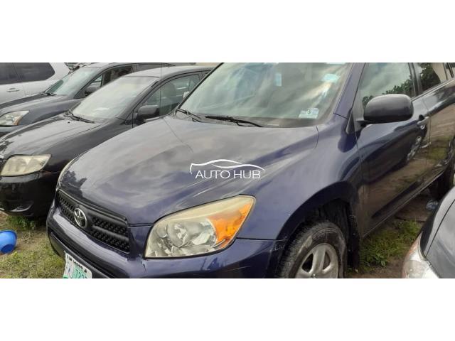 2007 Toyota Rav 4 Blue