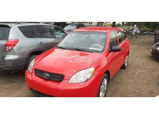 2006 Toyota Matrix Red