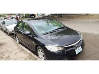 2007 Honda Civic Black