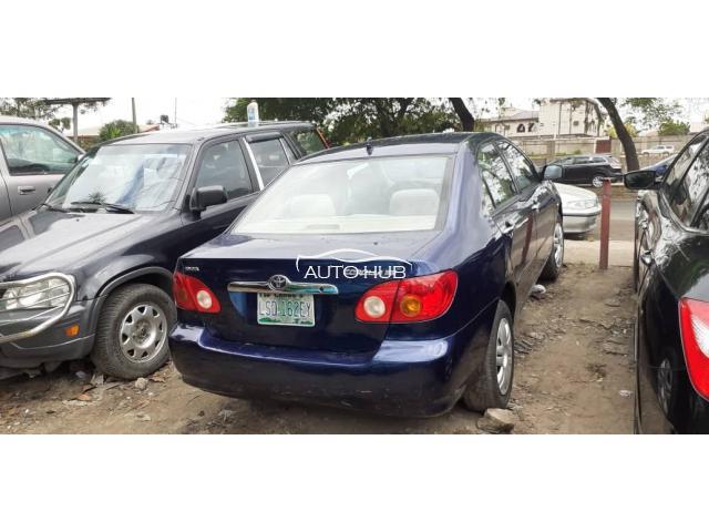 2003 Toyota Corolla Blue