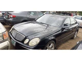 2005 Mercedes Benz E300 Black