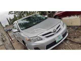 2012 Toyota Corolla Silver