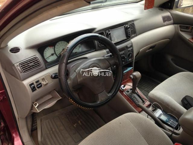 2003 Toyota Corolla Red
