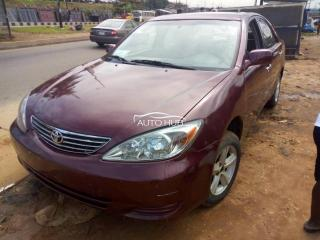 2003 Toyota Camry Red