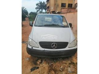 2000 Mercedes Transit White