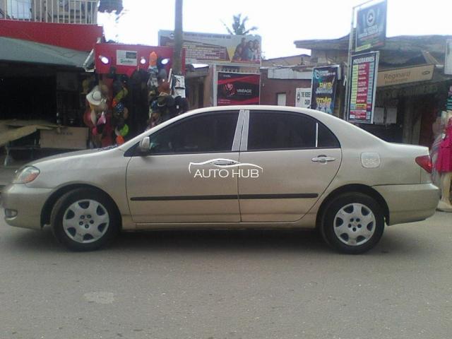 2006 Toyota Corolla Gold