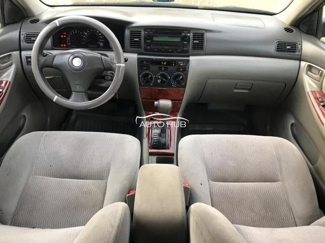 2004 Toyota Corolla Black