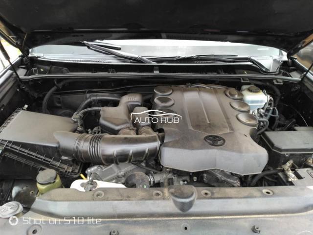 2012 Toyota 4 Runner Black