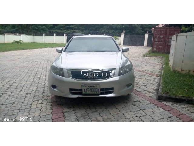 2008 Honda Accord Black Silver