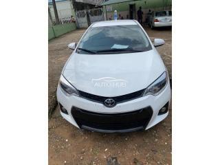 2015 Toyota Corolla White
