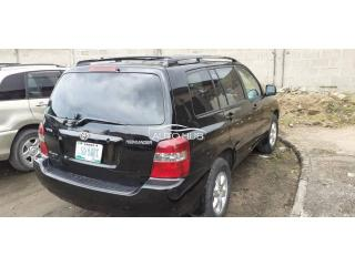 2005 Toyota Highlander Black