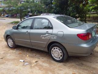 2003 Toyota Corolla Gray