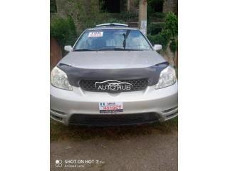 2003 Toyota Matrix Silver