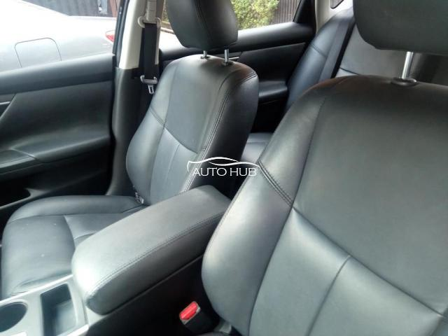 2015 Nissan Altima Black