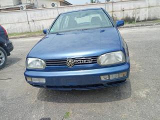 1996 Volkswagen Golf 3 Blue