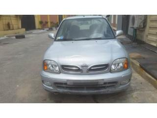 2003 Nissan Micra Silver