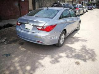 2011 Hyundai Sonata Silver