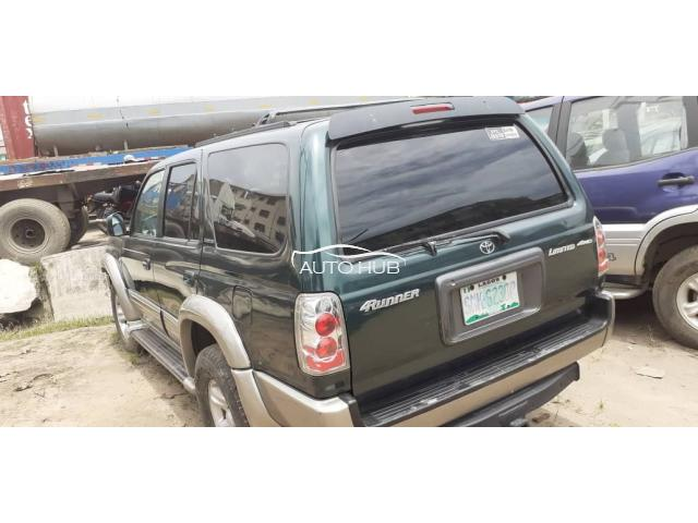 2002 Toyota 4 Runner Green