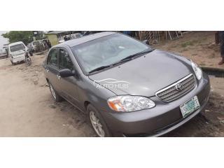 2006 Toyota Corolla Gray