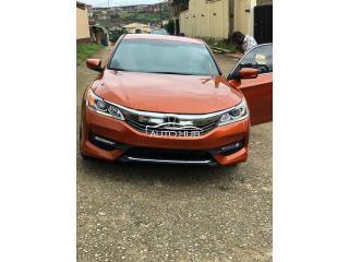2017 Honda Accord Orange